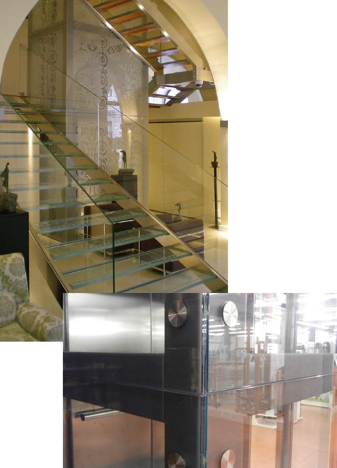 cristalli per ascensore elegant