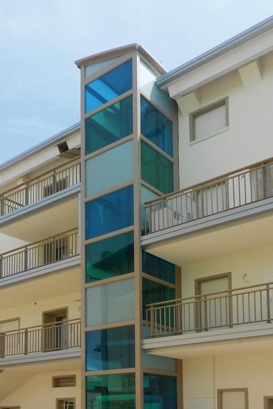 cristalli per ascensori piattaforme elevatrici discovery