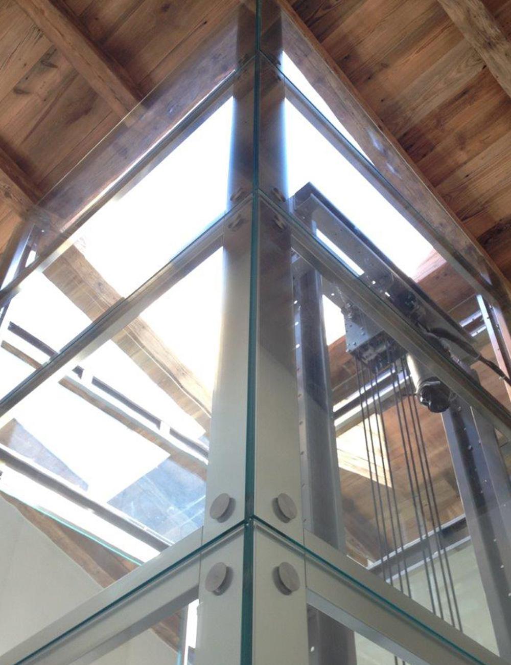 cristalli per ascensore elegant esempio