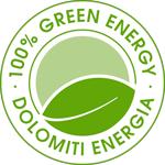 Logo 100% Green Energy - Dolomiti Energia